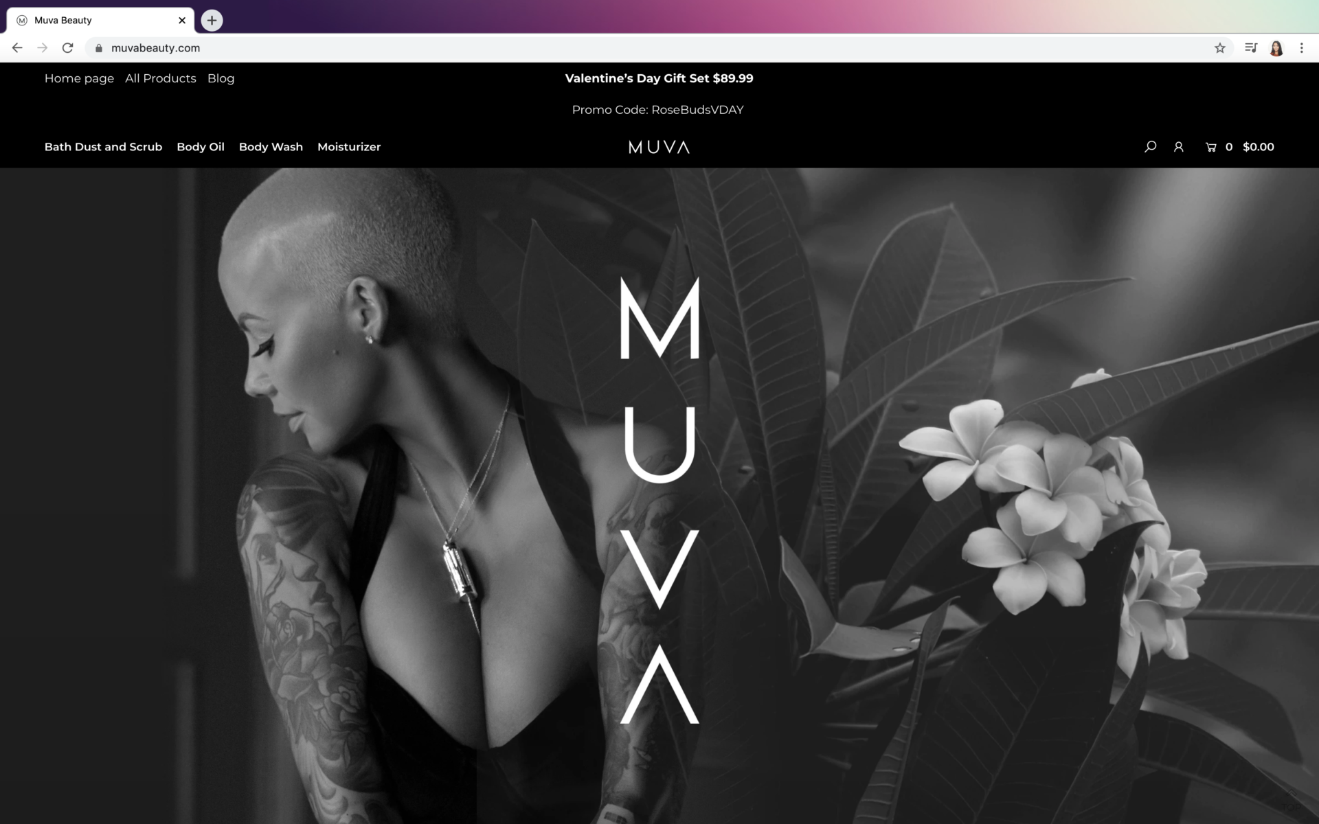 Hi, I'm Maria. Muva Beauty – Logo + Type